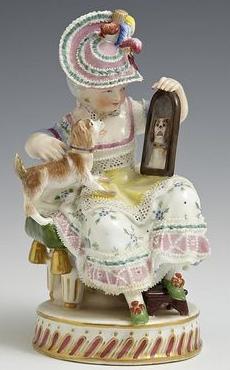 Dresden porcelain figurine