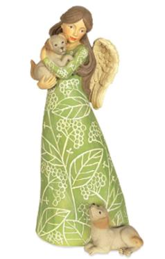 Angelstar Puppy Angel Figurine
